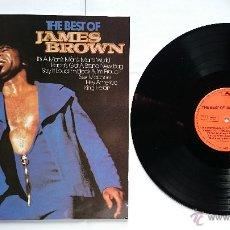 Discos de vinilo: JAMES BROWN - THE BEST OF JAMES BROWN (RECOPILATORIO 1959-1972) (EDICION ALEMANA-HOLANDESA 1981). Lote 50163584