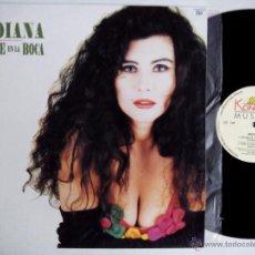 Discos de vinilo: INDIANA. ÁMAME EN LA BOCA. MAXI KONGA MUSIC CX-146. ESPAÑA 1992 MIRA EL MUNDO CHINESE DANCE ITALIA.. Lote 50164596