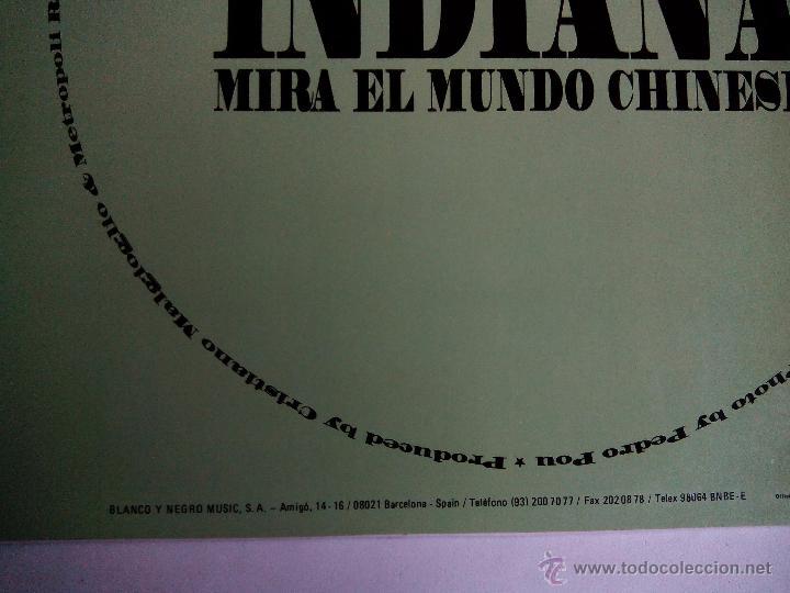 Discos de vinilo: INDIANA. ÁMAME EN LA BOCA. MAXI KONGA MUSIC CX-146. ESPAÑA 1992 MIRA EL MUNDO CHINESE DANCE ITALIA. - Foto 3 - 50164596