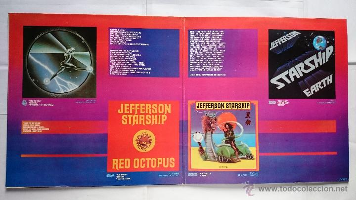 Discos de vinilo: JEFFERSON STARSHIP - GOLD (RECOPILATORIO 1974-1978) (EDICION COMPLETA LP+SINGLE 1979) - Foto 3 - 50167629
