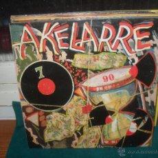 Discos de vinilo: AKELARRE, 7 90. ELKAR 1990. Lote 50171241