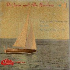 Discos de vinilo: EP AKE GRONBERG : VALSPOTPURRIET (ARTISTA SUECO ) . Lote 50175123
