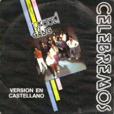 Discos de vinilo: SG KOOL & GANG : CELEBREMOS ( VERSION EN CASTELLANO ) . Lote 50176549