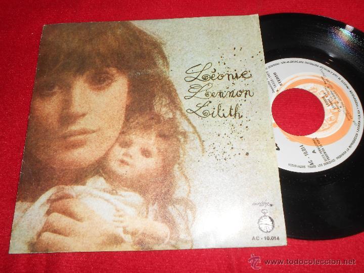 LEONIE LENNON/ LILITH 7 SINGLE 1972 ACCION PROMO SPAIN EX PYSCH SEXY (Música - Discos - Singles Vinilo - Pop - Rock - Extranjero de los 70)