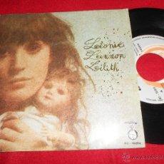 Discos de vinilo: LEONIE LENNON/ LILITH 7 SINGLE 1972 ACCION PROMO SPAIN EX PYSCH SEXY. Lote 50178720