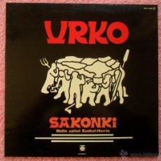 Discos de vinilo: URKO SAKONKI 1976 NOVOLA 1066 MAITE ZAITUT EUSKAL HERRIA ORKESTA ETA KORUAK LP DOBLE PORTADA A. Lote 50179014