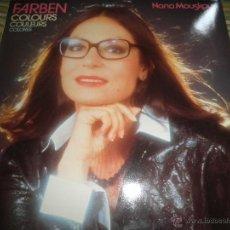 Discos de vinilo: NANA MOUSKOURI - FARBEN (COLORES) LP - ORIGINAL ALEMAN PHILIPS RECORDS 1983 - MUY NUEVO (5). -. Lote 50182438