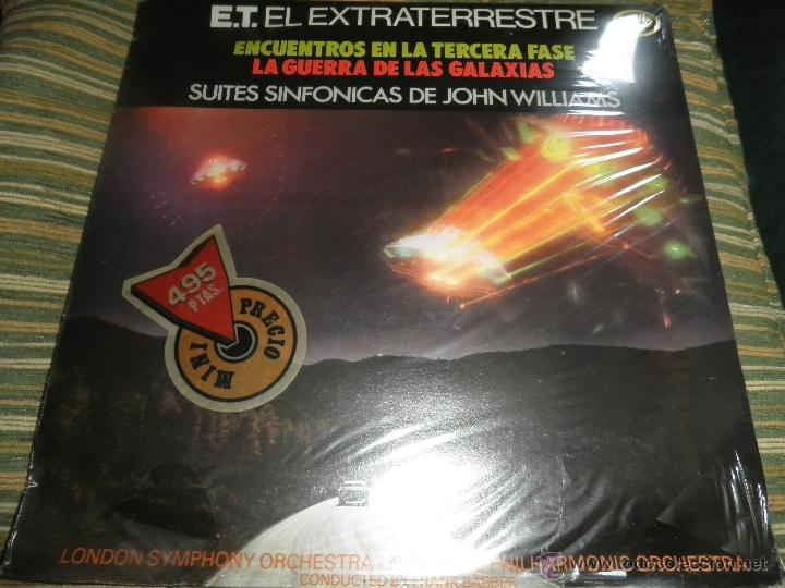 Discos de vinilo: JOHN WILLIAMS - SUITES SINFONICAS DE JOHN WILLIAMS LP - ORIGINAL ESPAÑOL - MFP 1982 AUN PRECINTADO 5 - Foto 1 - 50183038