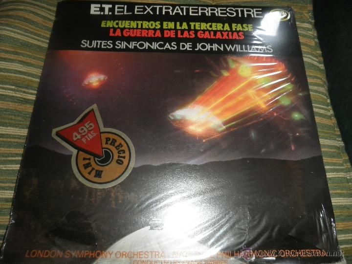 Discos de vinilo: JOHN WILLIAMS - SUITES SINFONICAS DE JOHN WILLIAMS LP - ORIGINAL ESPAÑOL - MFP 1982 AUN PRECINTADO 5 - Foto 10 - 50183038