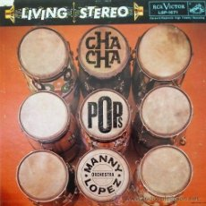 MANNY LOPEZ - CHA CHA POPS - LP RARO DE JAZZ LATINO - LATIN JAZZ - EDICION USA