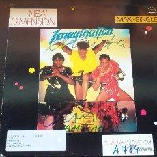 Discos de vinilo: IMAGINATION - NEW DIMENSION - 1983. Lote 50190931