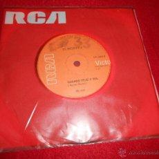 Discos de vinilo: OS INCRIVEIS EU TE AMO MEU BRASIL/QUANDO VEJO O SOL 7 SINGLE 1970 RCA BRAZIL LATIN. Lote 50195263