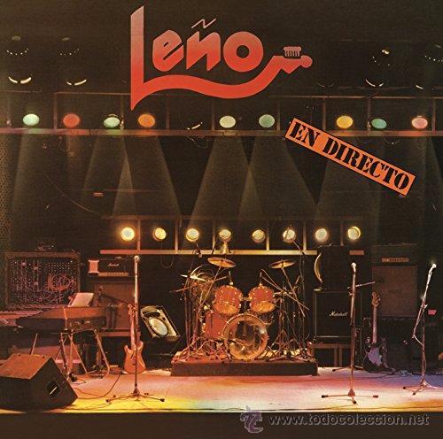 LP LEÑO EN DIRECTO VINILO ROSENDO ROCK URBANO NACIONAL CHAPA (Música - Discos - LP Vinilo - Grupos Españoles de los 70 y 80)