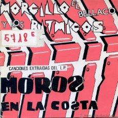 Discos de vinilo: MORCILLO EL BELLACO Y LOS RITMICOS / NO TRATES DE VOLVER O TE MORDERE + 3 (EP PROMO 1985). Lote 50203481