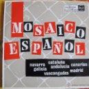 Discos de vinilo: LP - MOSAICO ESPAÑOL - VARIOS (SPAIN, RCA VICTOR 1962). Lote 50207037