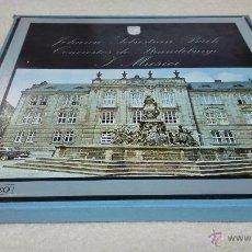 Discos de vinilo: J.S. BACH CONCIERTOS DE BRANDEMBURGO. SELLO PHILIPS, ESTEREO. CON LIBRETO EN ESPAÑOL. 2 DISCOS.. Lote 50215721
