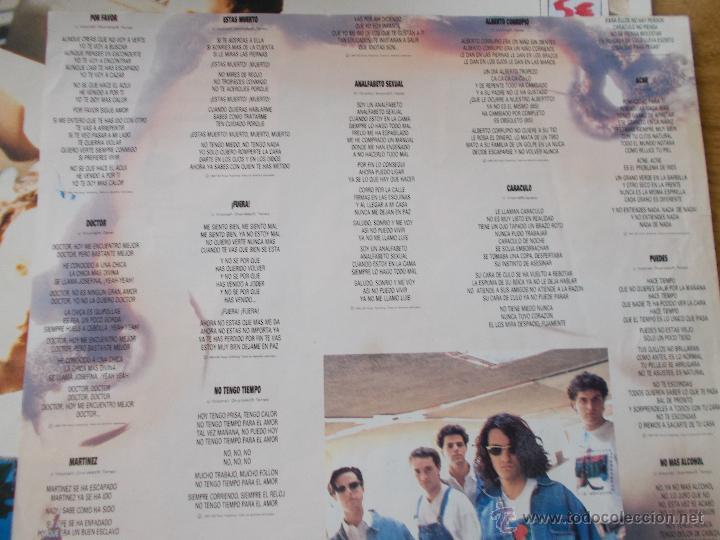 Discos de vinilo: LOS MOLUSCOS. FUERA - Foto 3 - 50217731