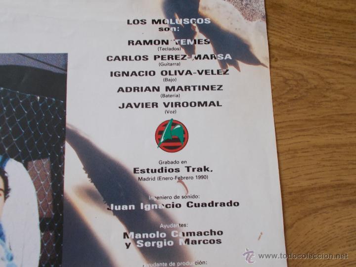 Discos de vinilo: LOS MOLUSCOS. FUERA - Foto 4 - 50217731