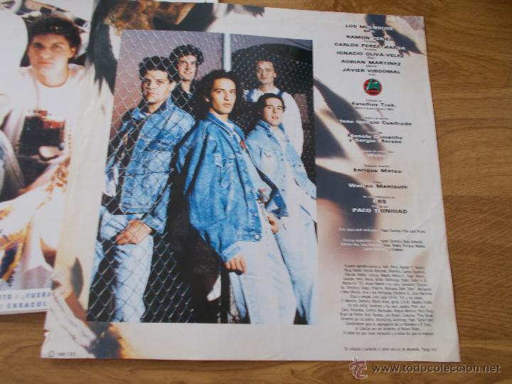 Discos de vinilo: LOS MOLUSCOS. FUERA - Foto 5 - 50217731