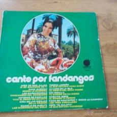 Discos de vinilo: CANTE POR FANDANGOS. Lote 50222777
