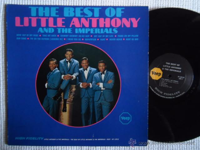 LITTLE ANTHONY AND THE IMPERIALS - '' THE BEST OF ... '' LP ORIGINAL USA (Música - Discos - LP Vinilo - Funk, Soul y Black Music)