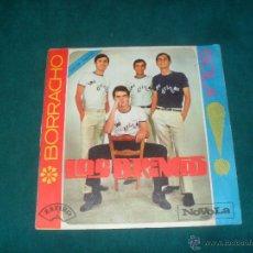Discos de vinilo: LOS BRINCOS, BORRACHO. NOVOLA 1965. Lote 50224911