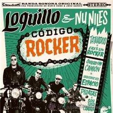 Discos de vinilo: LOQUILLO AND NU NILES - CODIGO ROCKER LP+CD - WARNER 2015 - A ESTRENAR. Lote 50225631