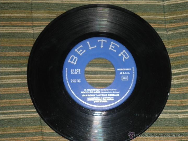Discos de vinilo: LOLA FLORES - EL ESCANDALO EP - ORIGINAL ESPAÑOL - BELTER RECORDS 1964 - MONOAURAL - - Foto 3 - 50229533