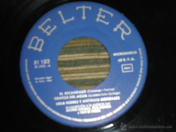 Discos de vinilo: LOLA FLORES - EL ESCANDALO EP - ORIGINAL ESPAÑOL - BELTER RECORDS 1964 - MONOAURAL - - Foto 4 - 50229533