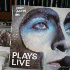 Discos de vinilo: PLAYS LIVE, PETER GABRIEL,2LPS. Lote 50234911