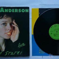 Discos de vinilo: LAURIE ANDERSON - UNITED STATES LIVE (USA 1984) (SOLO CUBIERTAS INTERIORES Y DISCO 2). Lote 50238295