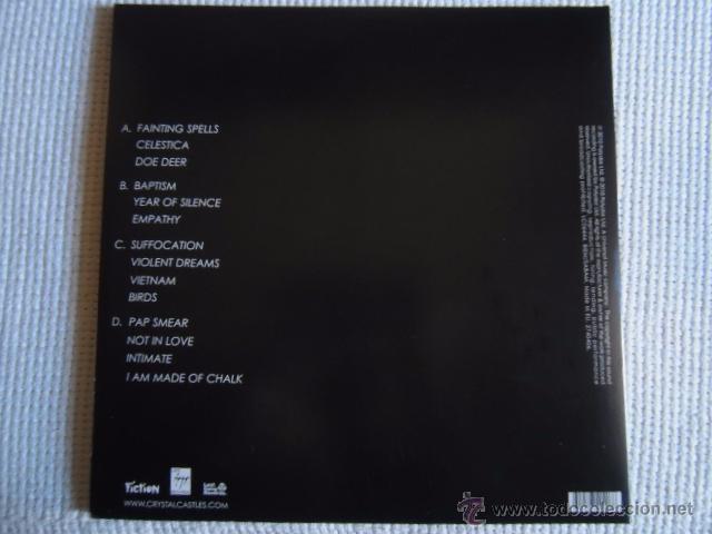 Discos de vinilo: CRYSTAL CASTLES - CRYSTAL CASTLES 2 LP + POSTER EU - Foto 3 - 33995051