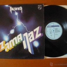 Discos de vinilo: NAZARETH RAZ AMA NAZ LP ESPAÑA 1990. Lote 50245694