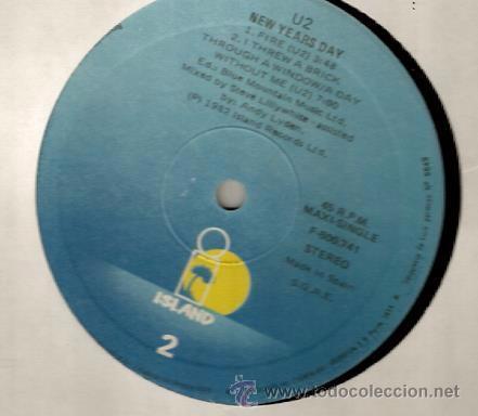 Discos de vinilo: MAXI U2 : NEW YEAR´S DAY (LONG VERSION) - Foto 5 - 38375065
