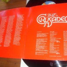 Discos de vinilo: CRUSADERS 2 LP. THE BEST OF THE CRUSADERS HERO MADE IN GERMANY 1976. Lote 50248987
