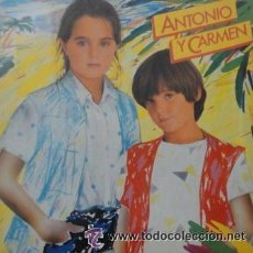 Discos de vinilo: 'ANTONIO Y CARMEN', DE ANTONIO Y CARMEN MORALES. LP 1982. MUY BUEN ESTADO.. Lote 50250178