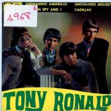 Discos de vinilo: TONY RONALD / SUBMARINO AMARILLO / CADILLAC + 2 (EP PROMO 1966). Lote 50251642