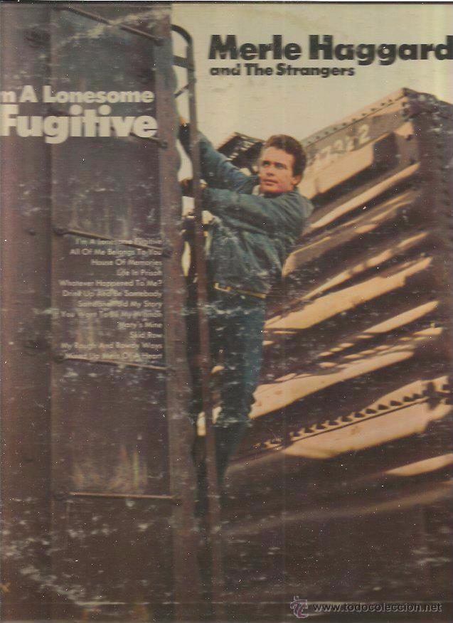 MERLE HAGGARD FUGITIVE (Música - Discos - LP Vinilo - Pop - Rock - Extranjero de los 70)
