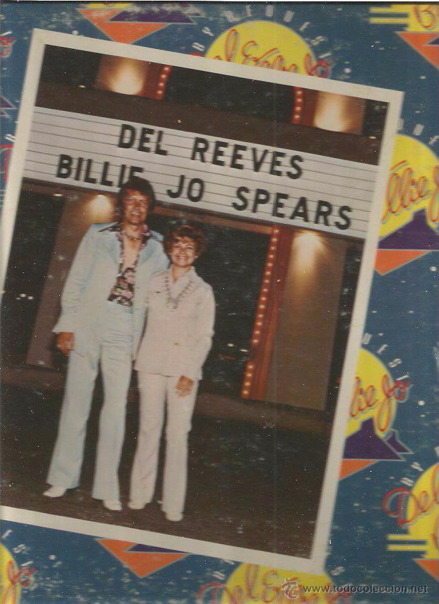 DEL REEVES BILLIE JO SPEARS (Música - Discos - LP Vinilo - Pop - Rock - Extranjero de los 70)