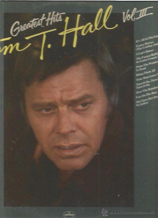 TOM T. HALL VOL III (Música - Discos - LP Vinilo - Pop - Rock - Extranjero de los 70)