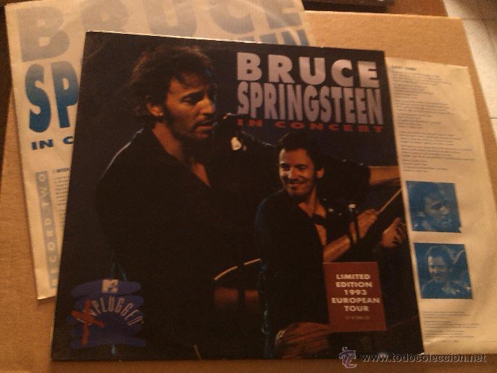 BRUCE SPRINGSTEEN - IN CONCERT / MTV UNPLUGGED (2XLP, LTD, 1993) (Música - Discos - LP Vinilo - Pop - Rock Extranjero de los 90 a la actualidad)