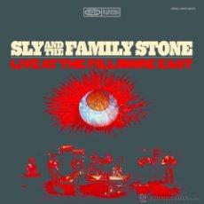 Discos de vinilo: SLY & THE FAMILY STONE - 2XLP LIVE AT FILLMORE RECORD STORE DAY 2015 -ED.LTDA. VINILOS COLOR - NUEVO. Lote 50253388