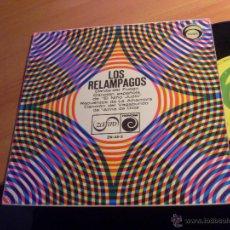 Discos de vinilo: LOS RELAMPAGOS ( DANZA DEL FUEGO + 3 ) EP 1966 ESPAÑA (VG+/VG+) (EP13). Lote 50253508