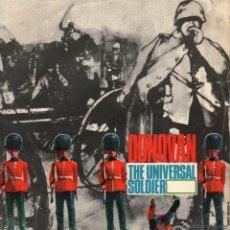 Discos de vinilo: DONOVAN, EP, THE UNIVERSAL SOLDIER + 3, AÑO 1965 MADE IN ENGLAND. Lote 50256589