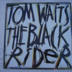 Discos de vinilo: TOM WAITS - THE BLACK RIDER - LP - NUEVO. Lote 50257629