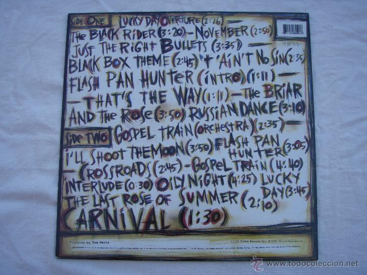 Discos de vinilo: TOM WAITS - THE BLACK RIDER - LP - NUEVO - Foto 3 - 50257629