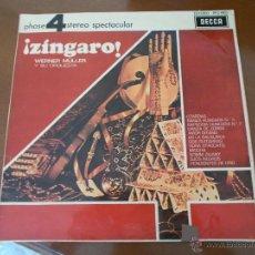 Discos de vinilo: ZINGARO. WERNER MULLER. Lote 50257790