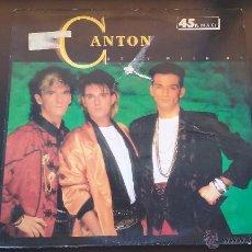 Discos de vinilo: CANTON - STAY WITH ME - 1985. Lote 50258477
