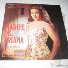 Discos de vinilo: MARIFE DE TRIANA - CANTA GUITARRA + 3. Lote 50259740