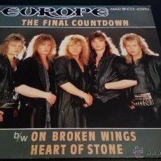 Discos de vinilo: EUROPE - THE FINAL COUNTDOWN. Lote 50261334